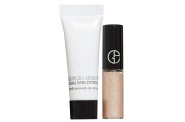 Giorgio Armani beauty gift with purchase.