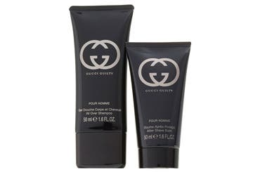 Gucci men's grooming gift with purchase.