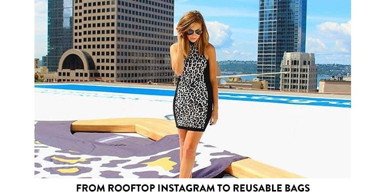 From Rooftop Instagram to Reusable Bags.
