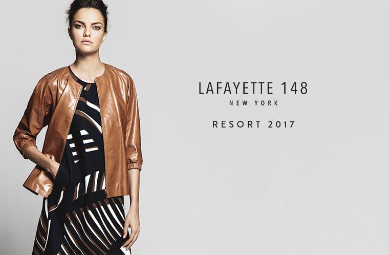 Lafayette 148 New York resort 2017.