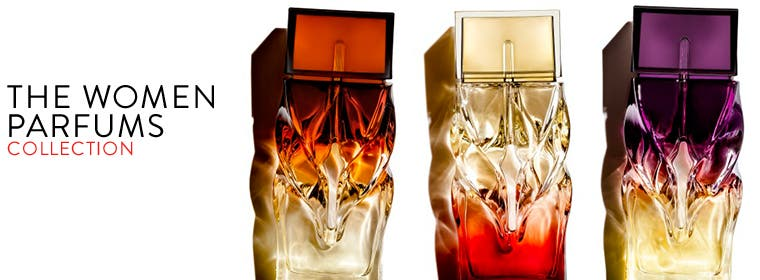 The Women Parfums collection, fragrance from Christian Louboutin.