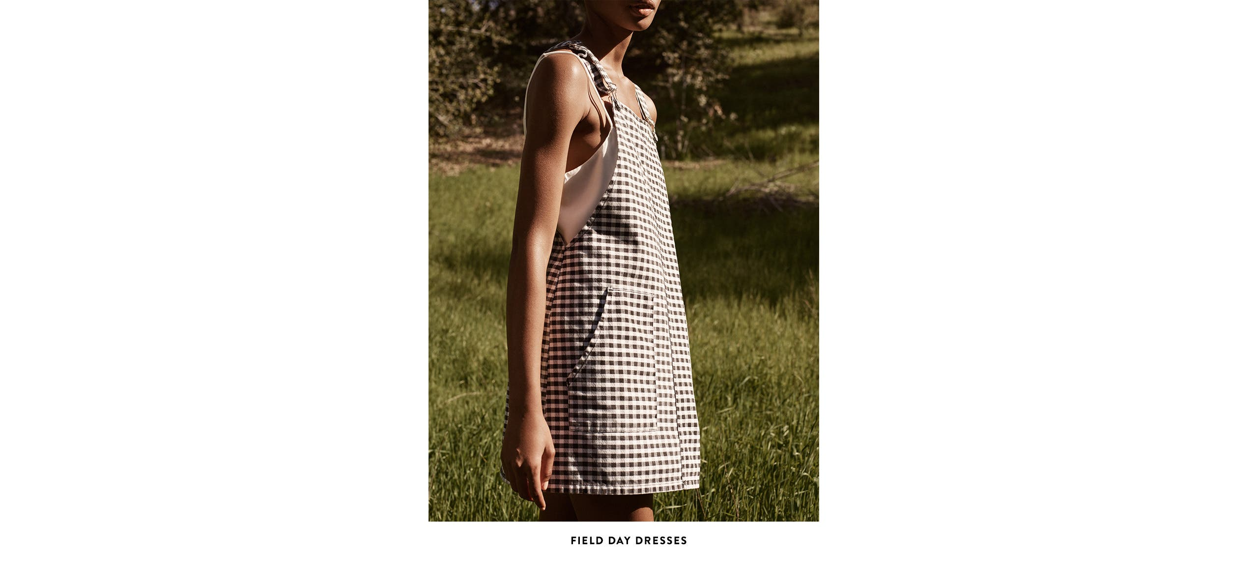 Field day dresses from Topshop.