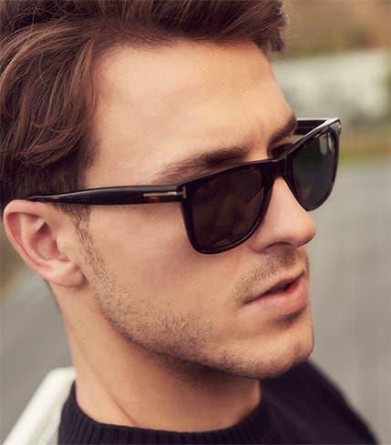 4: tortoiseshell sunglasses.