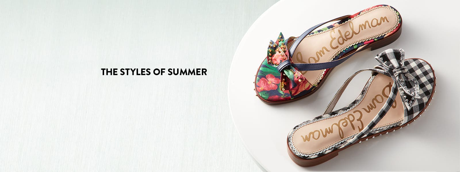 The styles of summer.