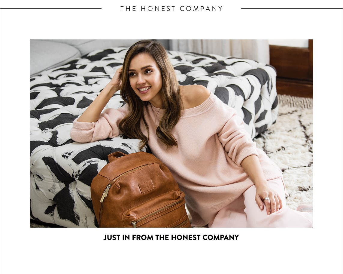Just in from The Honest Company.