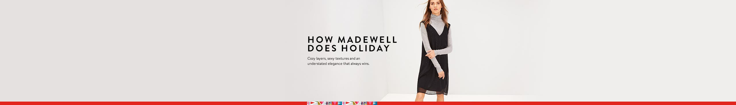 How Madewell does holiday.