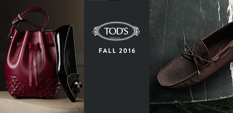 Tod's fall 2016 collection.