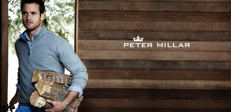 Peter Millar men's clothing.
