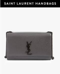 Saint Laurent handbags.
