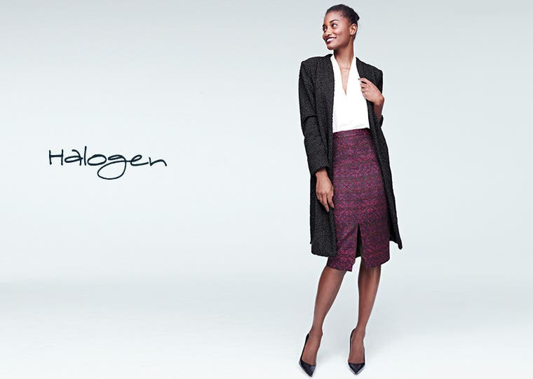 Halogen women's clothing.