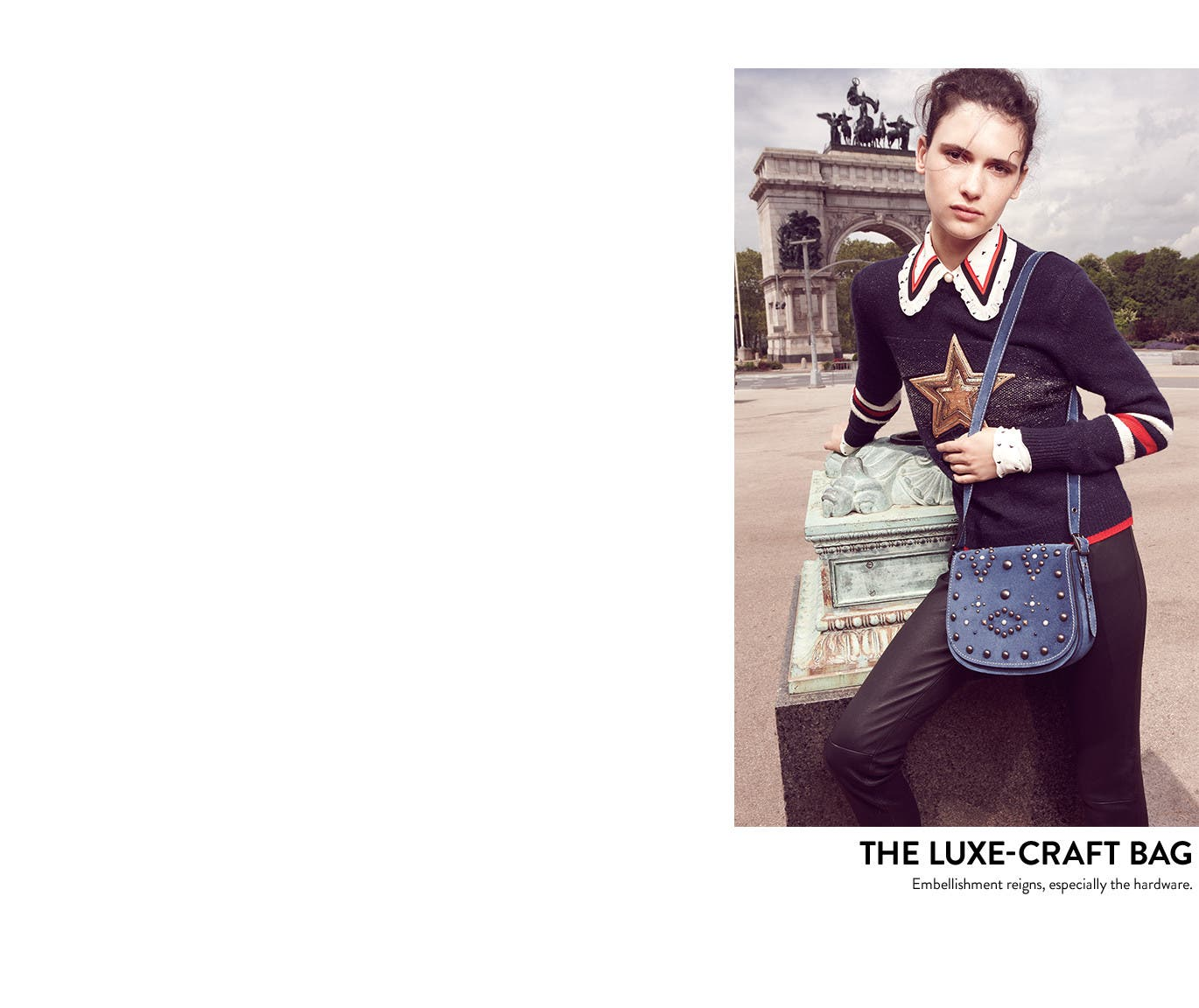 The luxe-craft bag.