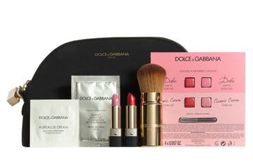 Dolce and Gabbana Beauty gift with purchase.