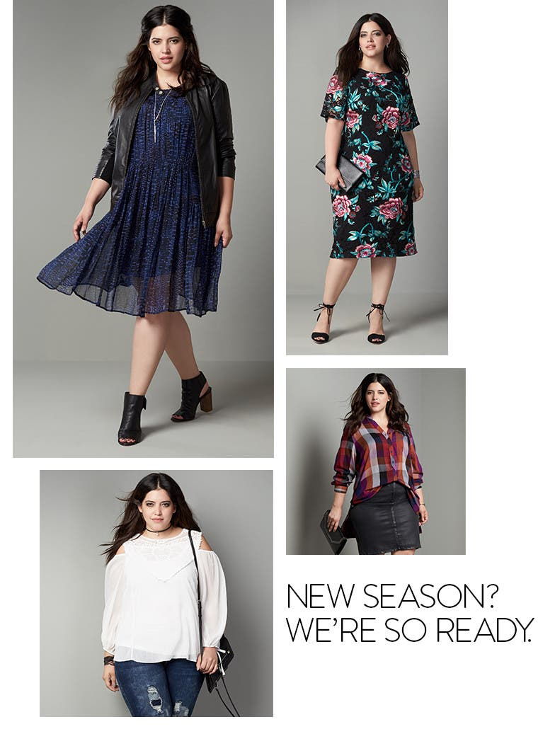 New season? We're so ready for new plus-size outfits.