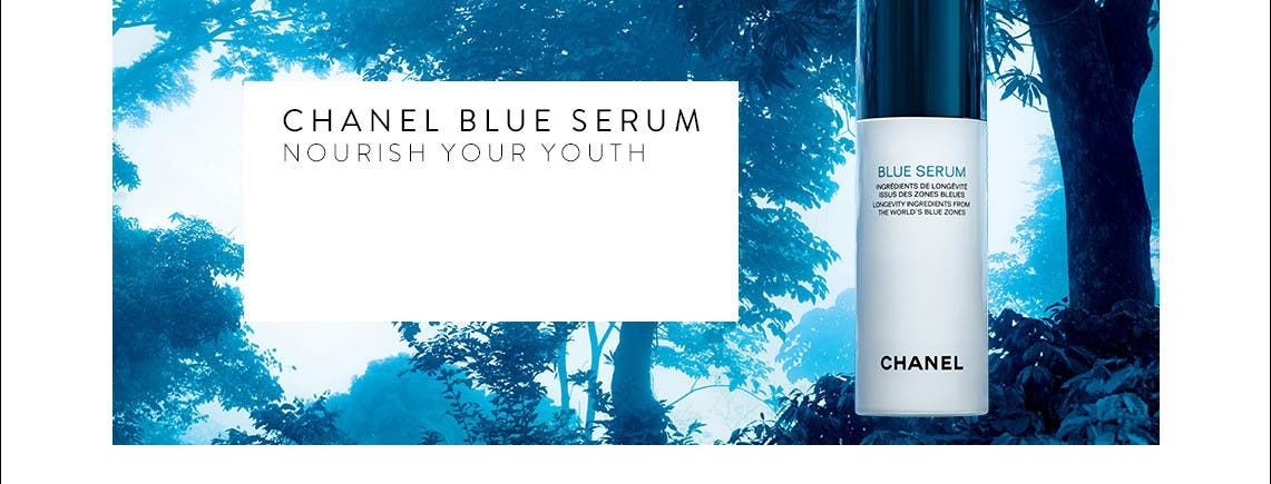 CHANEL Blue Serum.