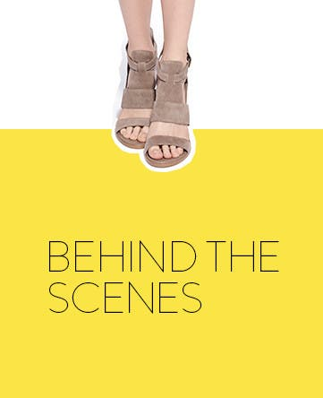 Behind the scenes: get a sneak peek at what's on sale.