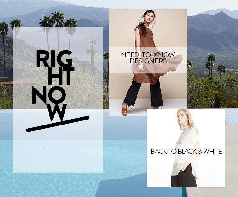 Right Now: contemporary trend guide.