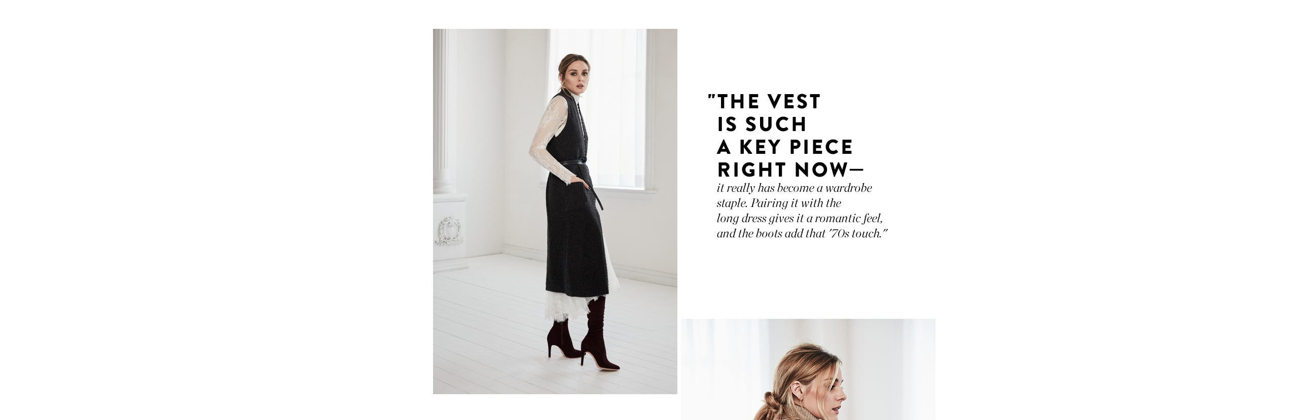 Exclusive fall styles from Olivia Palermo + Chelsea28.