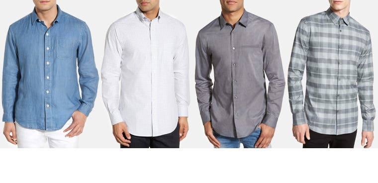 Men's shirts: find your fit.
