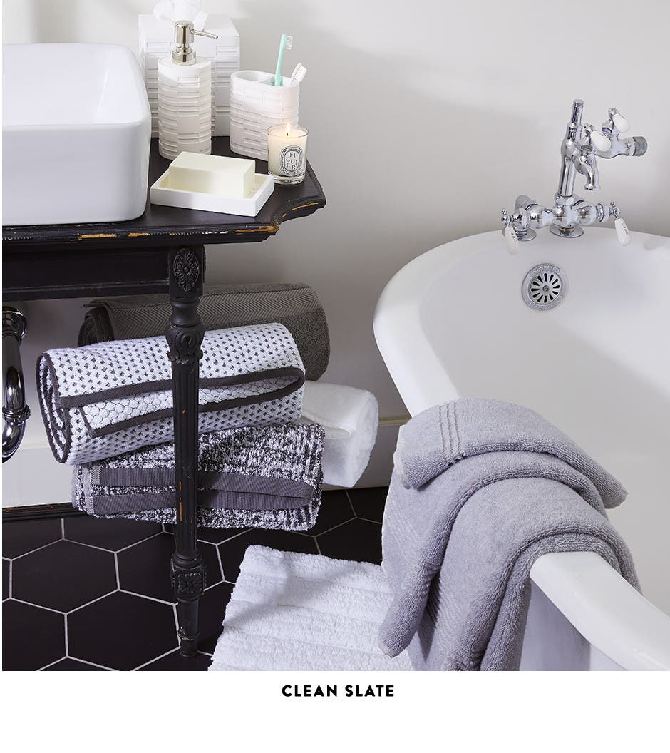 A clean slate for your bathroom.