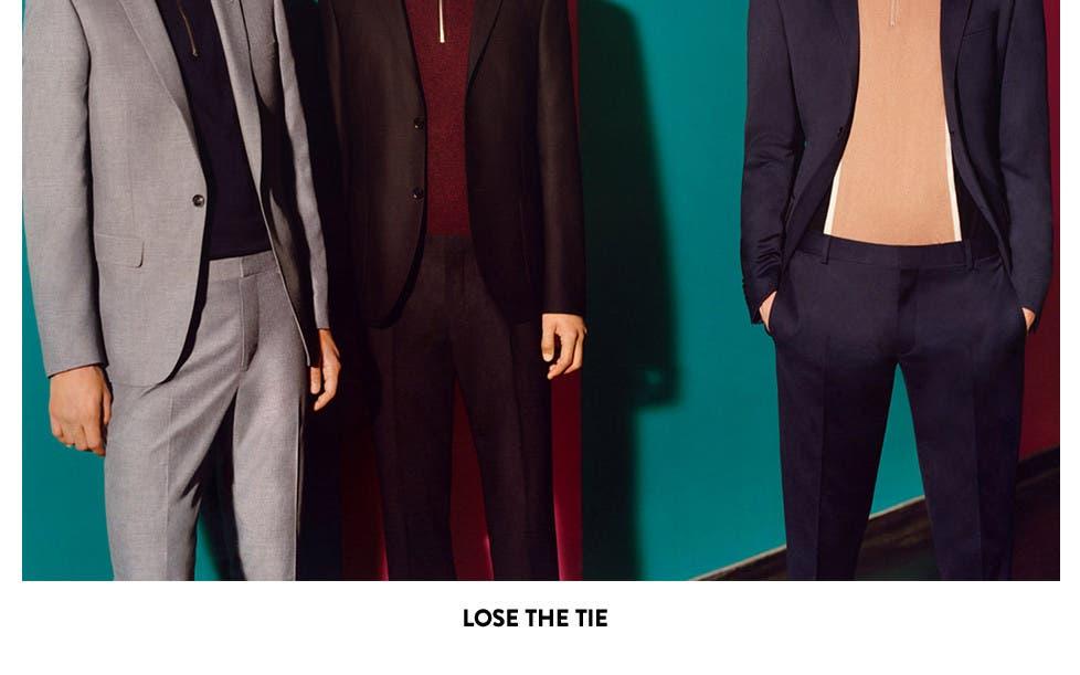 Lose the tie.
