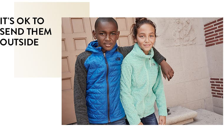 It's OK to send them outside: kids outerwear.