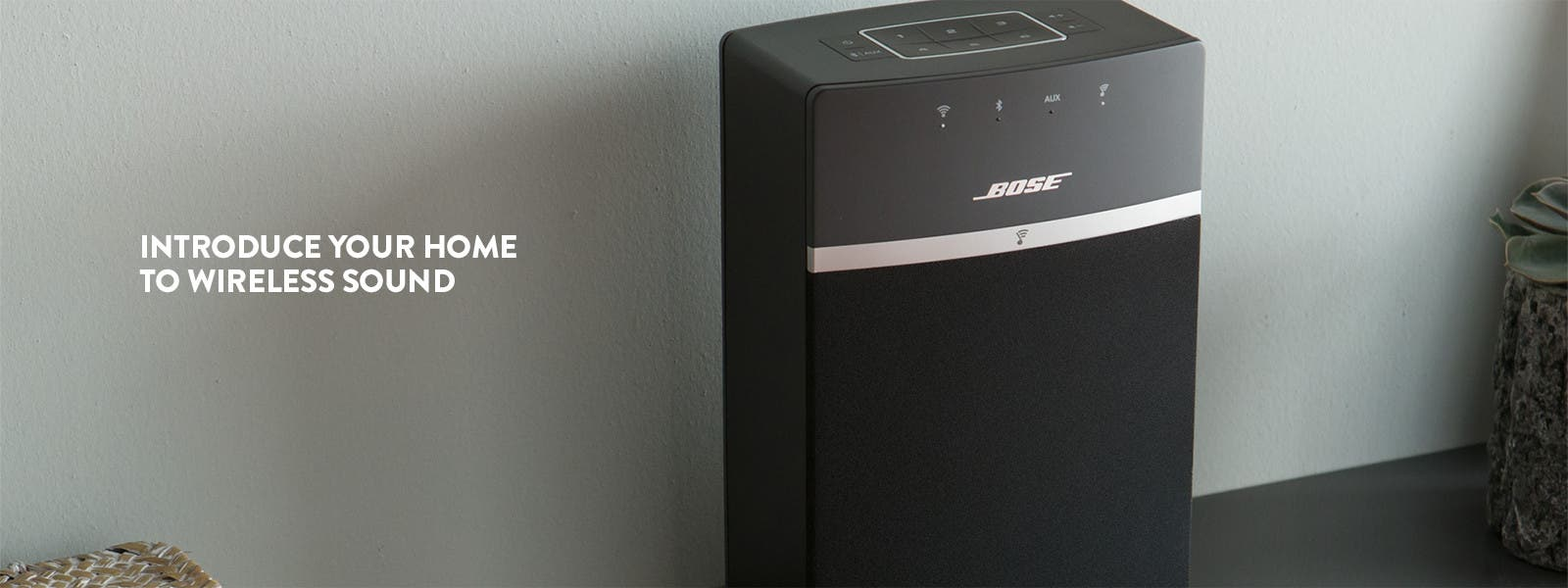 Bose SoundTouch 10 wireless speaker system.