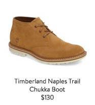 Timberland Naples Trail Chukka Boot.