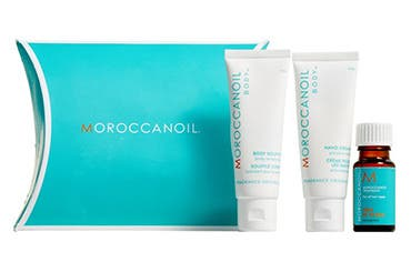 MOROCCANOIL gift with purchase.
