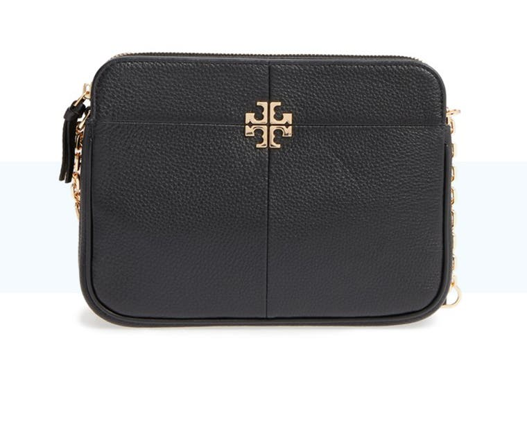 Tory Burch women's handbags and wallets.