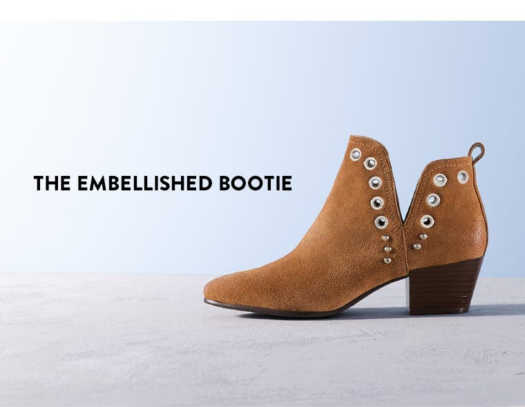 The embellished bootie.