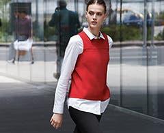 Halogen clothing for women.