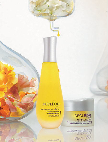 Decléor aromatherapy skincare products.