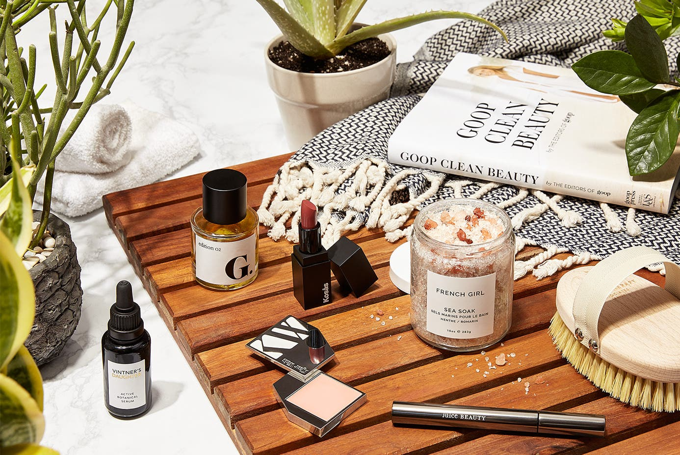 goop bath and beauty products