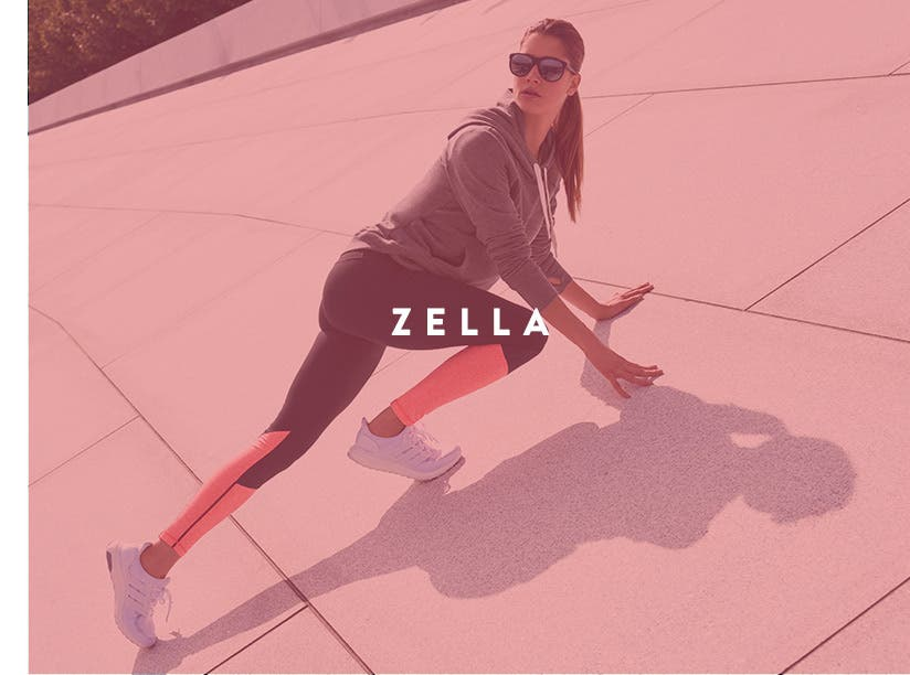 Zella workout and activewear for women.