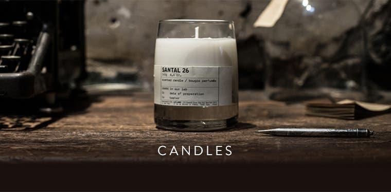 Le Labo candles.