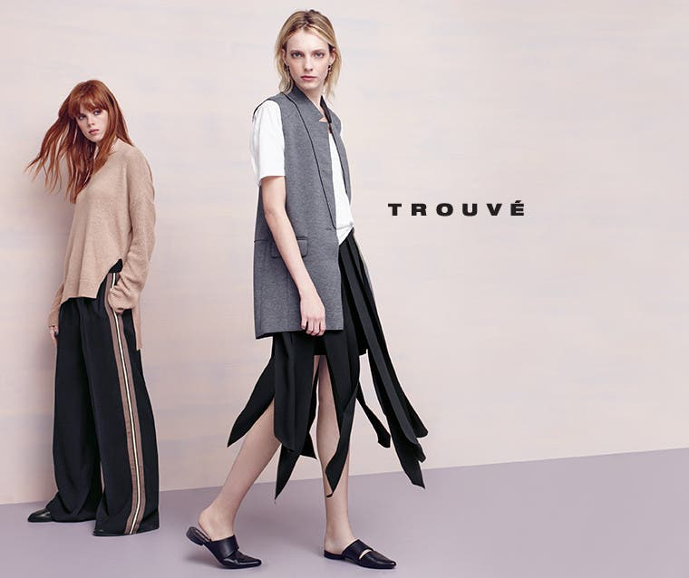 Trouvé clothing for women.