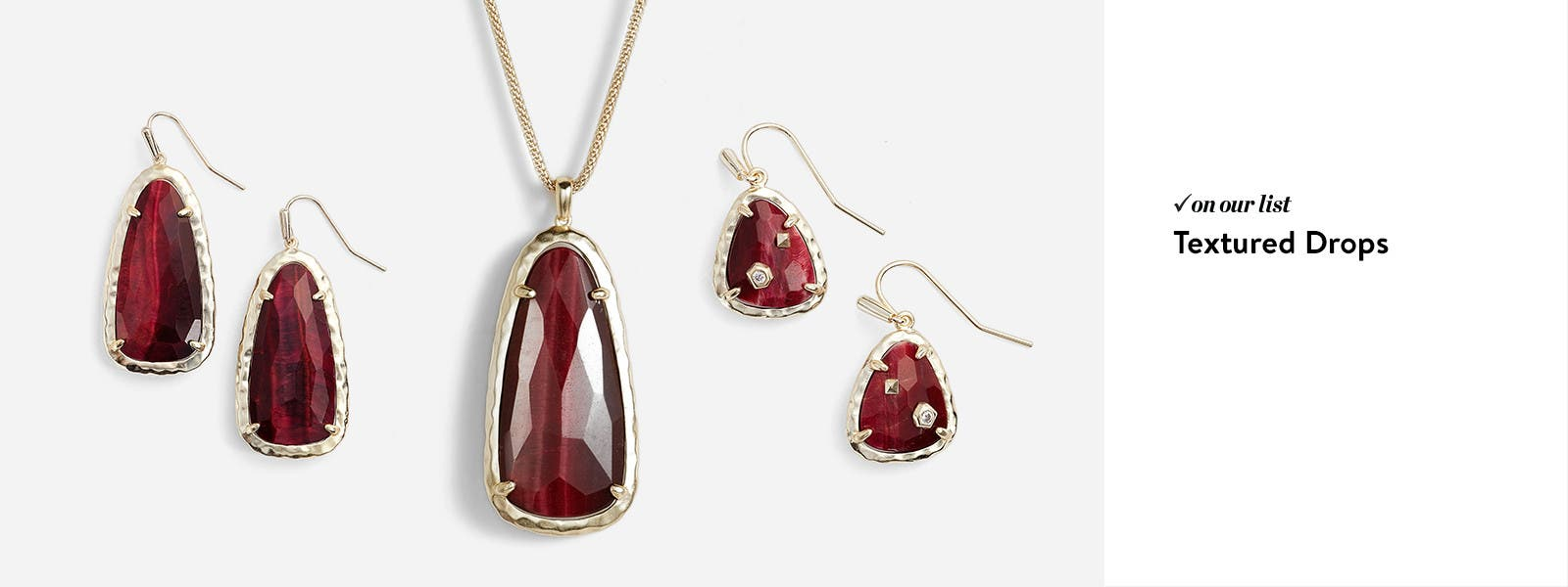 Colorful Stones Framed In Delicate Metals From Kendra Scott And More  Earrings · Necklaces