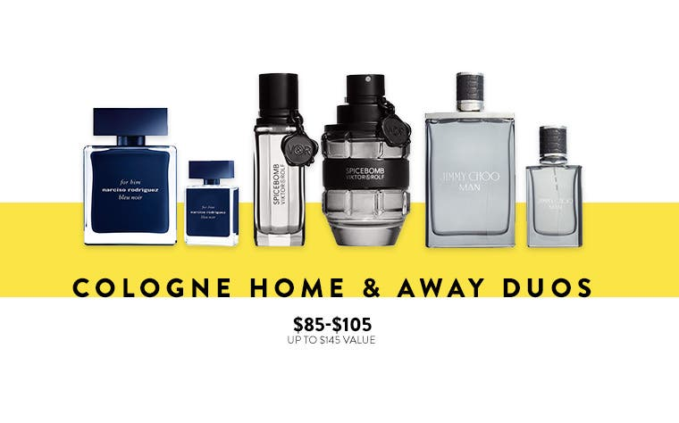 Cologne home and away duos.