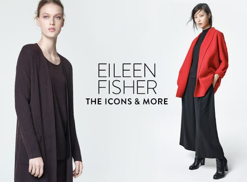 Eileen Fisher fall 2016 mix-and-match separates for women.