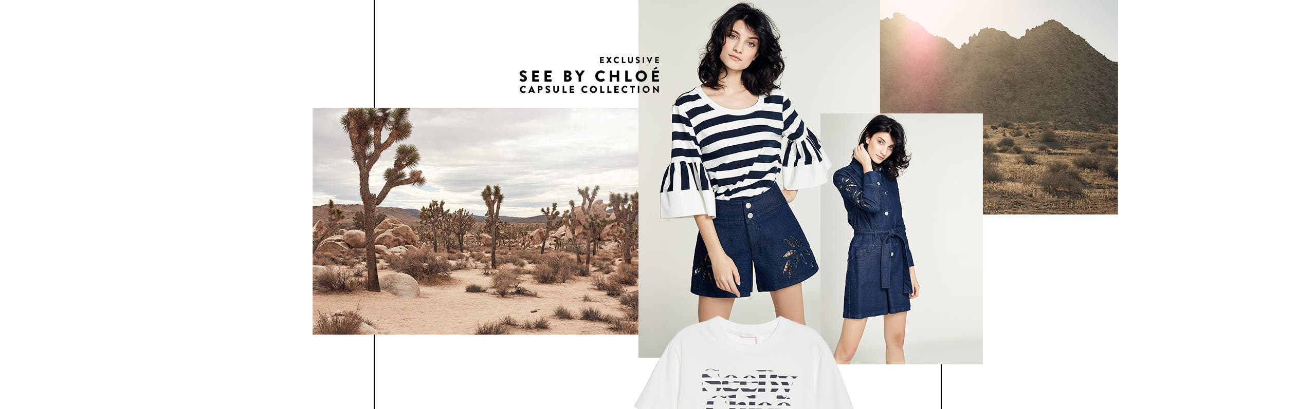 New now: See by Chloe apparel.