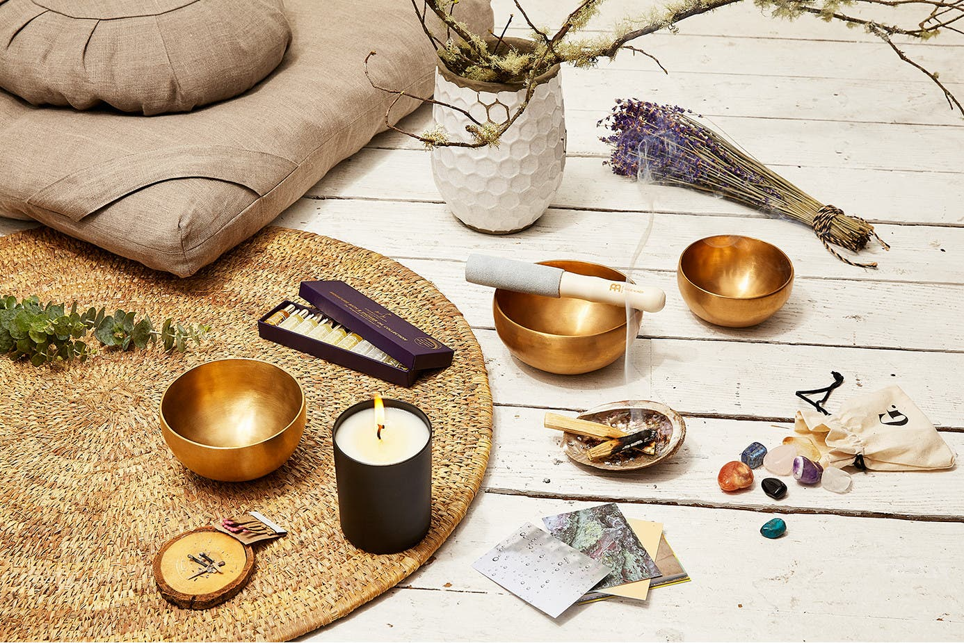 goop incense, oils, and candles with other products