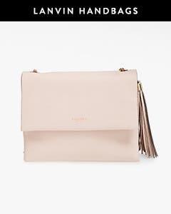 Lanvin handbags.