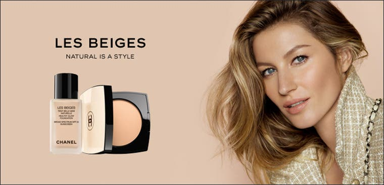 CHANEL Les Beiges makeup: natural is a style.