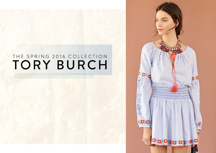 Tory Burch: the spring 2016 women's collection.