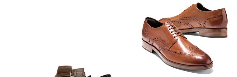 Cole Haan shoes and accessories for men.