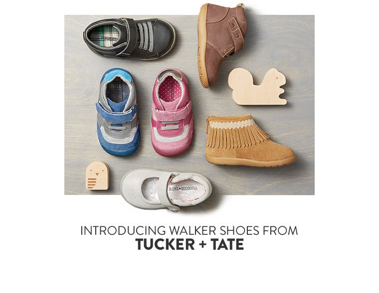 Kids' and baby shoes from Tucker + Tate and more.