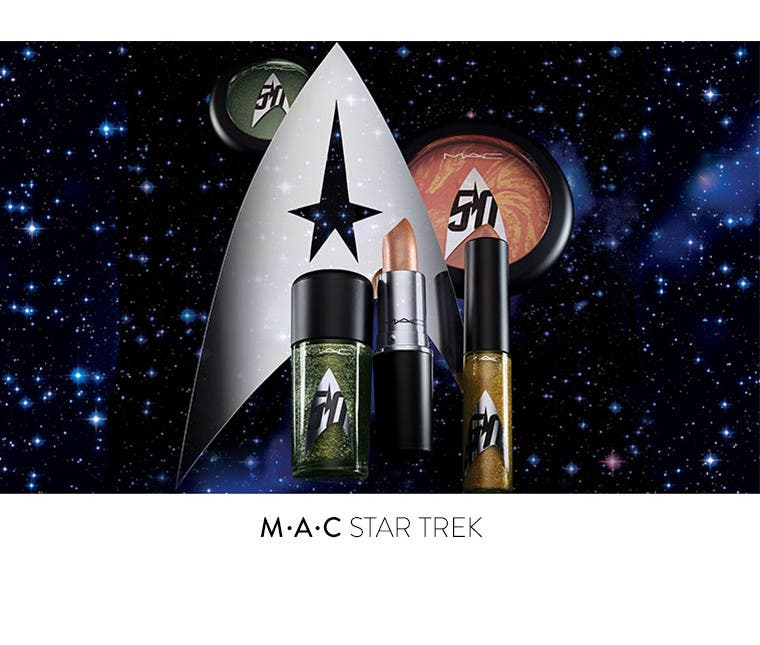 M·A·C Star Trek makeup collection.