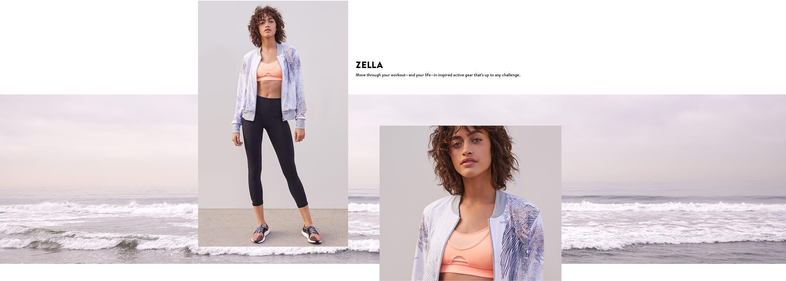 Zella: inspired active gear.