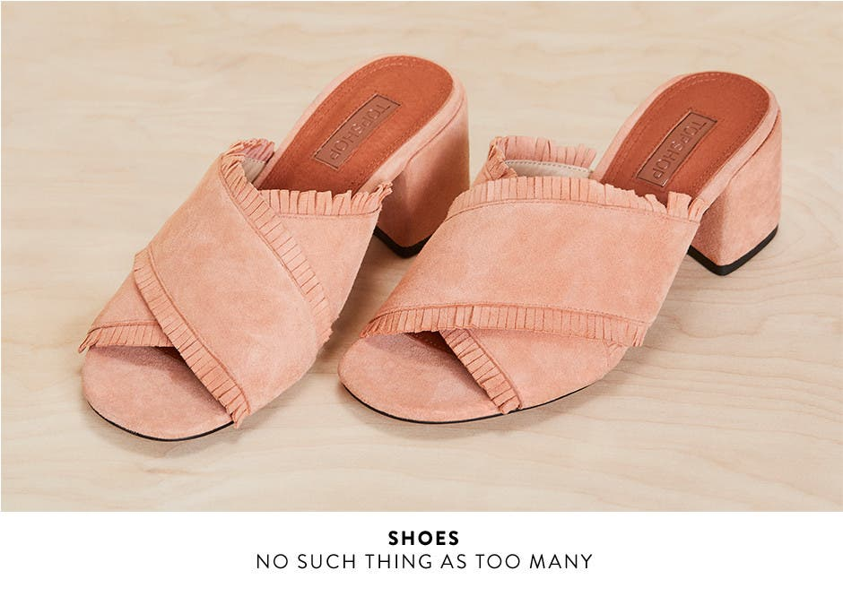 Topshop shoes. No such thing as too many.