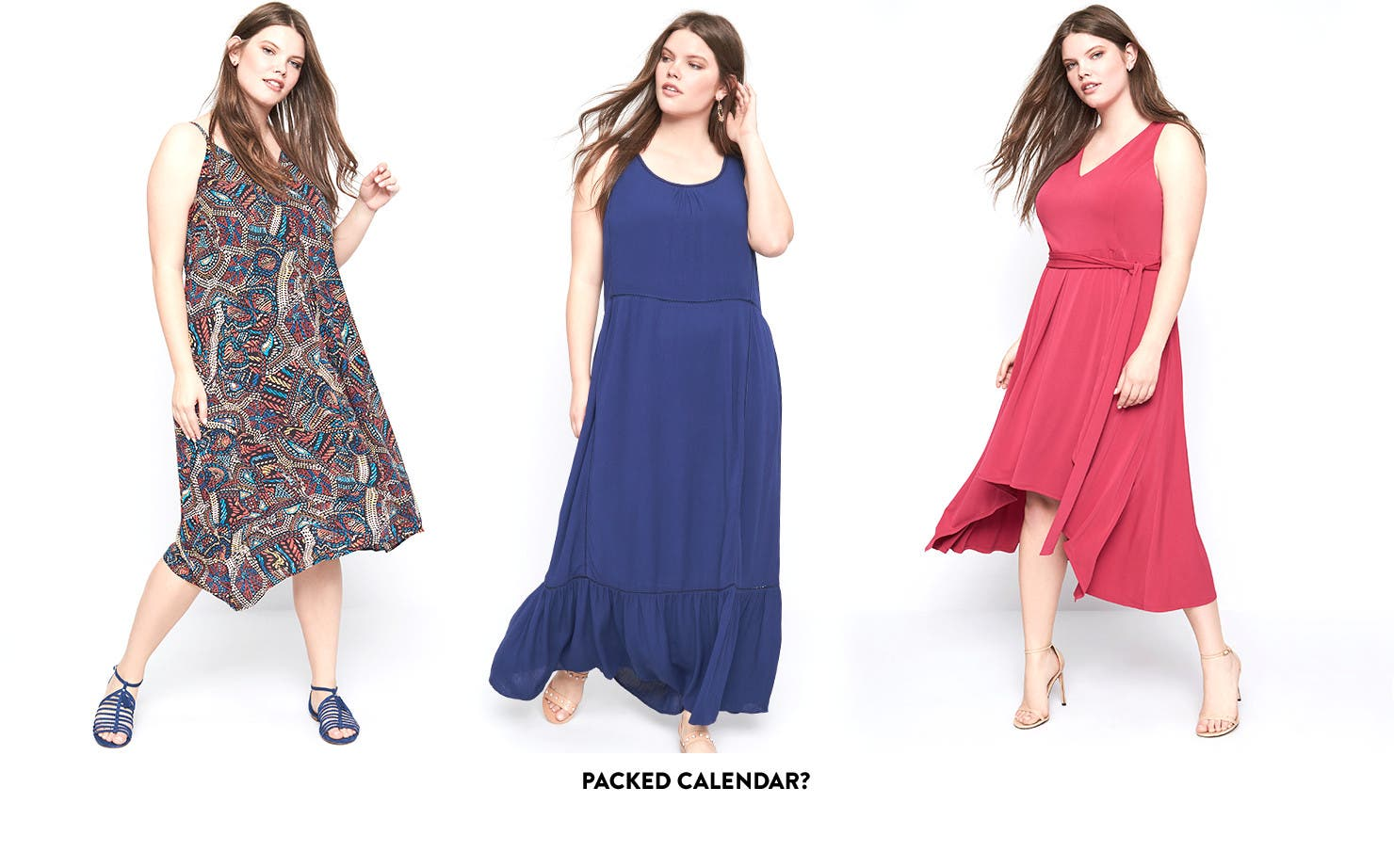 Plus-size summer dresses for every occasion.